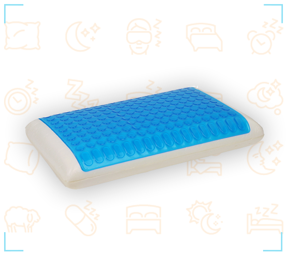 מעולה כרית ויסקו ג'ל – Kangaroo Visco Gel Pillow | קנגורו - מזרן UN-05